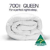 Australian Made Merino Wool Quilt/Doona/Duvet 700GSM (210x210cm Queen)