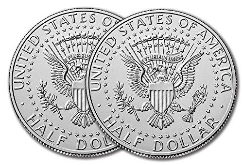 2018 P & D Kennedy Half Dollar Clad Uncirculated