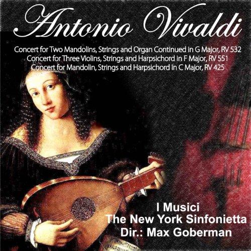 Antonio Vivaldi: Concert for Two Mandolins, Strings and Organ Continued in G Major, RV 532 - Concert for Three Violins, Strings and Harpsichord in F Major, RV 551 - Concert for Mandolin, Strings and Harpsichord in C Major, RV 425