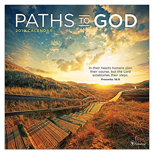 Paths to God - 2019 Wall Calendar - 12x12