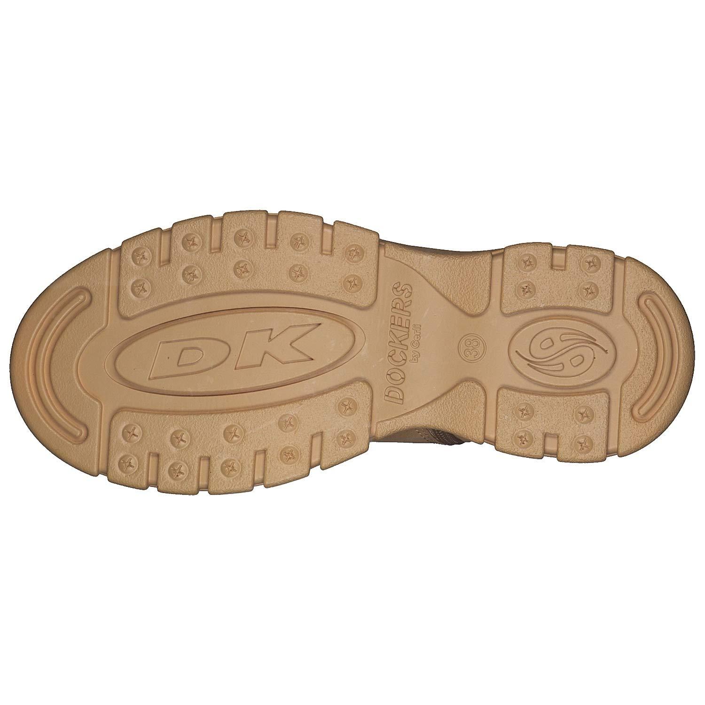 Dockers by Sneaker, Gerli Damen 43dr202 Hohe Sneaker, by Gelb (Golden Tan 910) 1579cc
