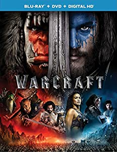 Cover Image for 'Warcraft (Blu-ray + DVD + Digital HD)'