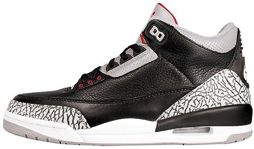 Air Jordan 3 Retro Black Cement 2001 Retro Nike Air 136064 001 size 11