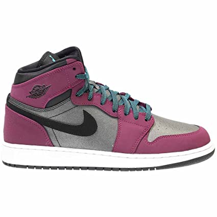 991c401340a8 Amazon.com: Nike 332148-505: Air Jordan Retro 1 (GG) Mulberry/Blue Girl  Gradeschool Size 8.5: Sports & Outdoors