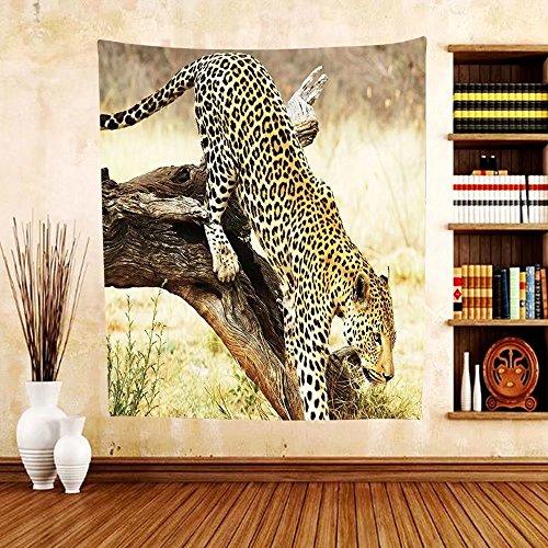 Gzhihine Custom tapestry Safari Decor Tapestry Zebra Portrait In Multicolored Stripes Zoo Animal Bedroom Living Room Dorm Decor Inches