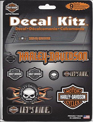 Chroma Graphics Harley Davidson Decal Kit