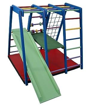 Klettergerüst Kinderzimmer funnyclouds kinder aktivitätsspielzeug kletterturm mit rutsche