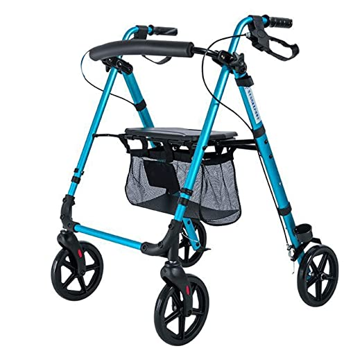 LDG Andador para Adultos Carro Mano para Ancianos Puede Sentarse ...