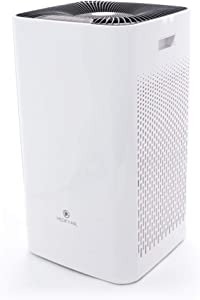 Medify Air MA-112 Super CADR 950 H13 True HEPA Air Purifier | Covers 2,400 sq ft - Allergies, Smog, Odors, Smoke, Pets Dander, Dust | Dual intake with 2 filters