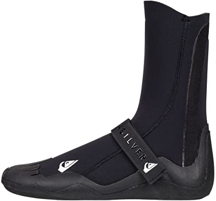 ba7bba8f5 Quiksilver Mens 5Mm Syncro - Round Toe Surf Boots Round Toe Surf Boots  Black 7
