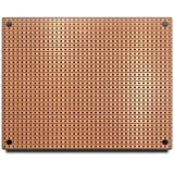 ST2 StripBoard, Uncut Strips, 1 Sided PCB, Size 2 = 100 x 80mm (3.94 x 3.15in)
