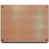 ST2 StripBoard, Uncut Strips, 1 Sided PCB, Size 2 = 100 x 80mm (3.94 x 3.15in)