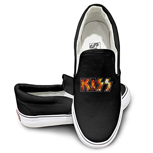 premium selection a8506 148e7 Amazon.com   Kiss Band Hard Rock Fashion Sneaker   Fashion ...