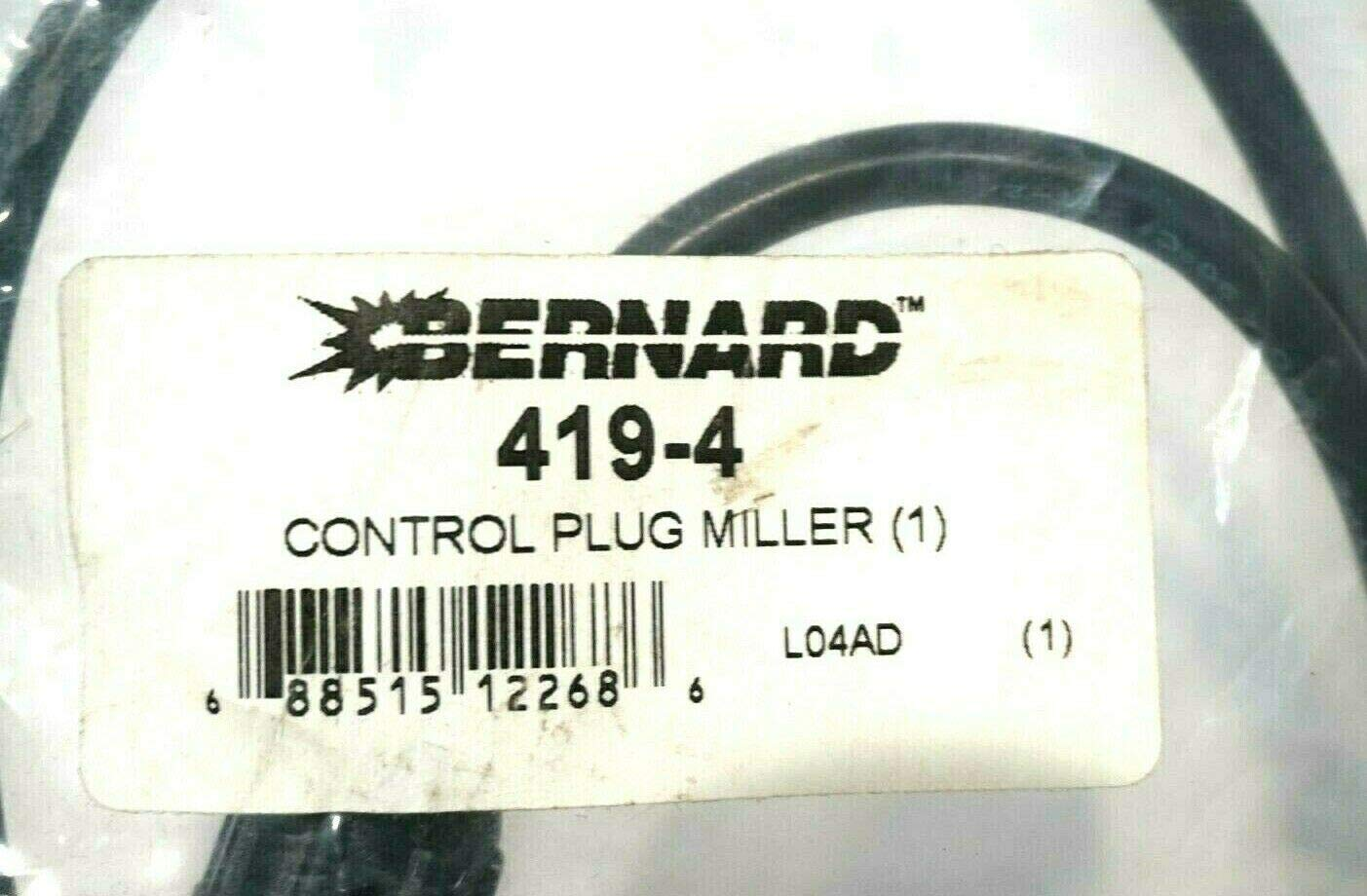 New BERNARD 419-4 Control Plug 4194