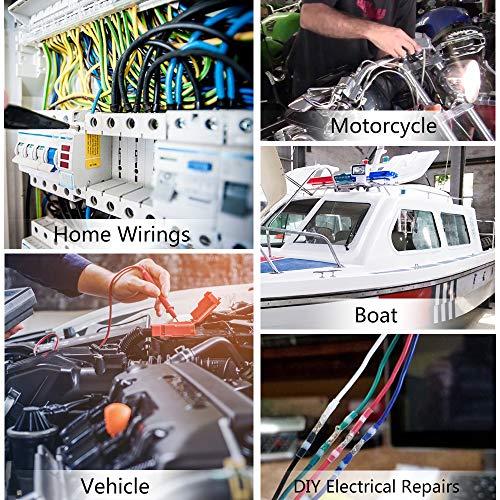 500PCS Solder Seal Wire Connectors - Sopoby Heat Shrink Solder Butt Connectors - Waterproof Solder Connectors - Electrical Wire Connectors Insulated Marine Automotive Terminal Kit by Sopoby (Image #6)