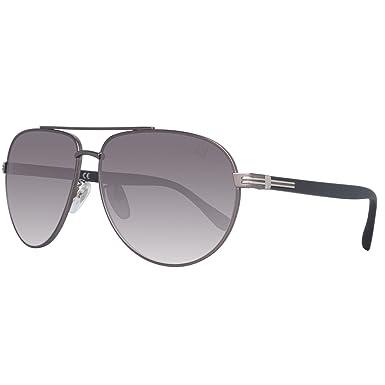 Amazon.com: dunhill A4/015 SCPP Gunmetal - Gafas de sol ...