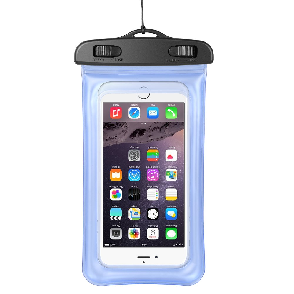 best website 0fdd4 f3b9f Fully Submersible Underwater Dry Waterproof Cellphone Pouch Case Bag for  Motorola Moto Z3 / Z3 Play / g6 / g6 Play / e5 Plus / e5 Play