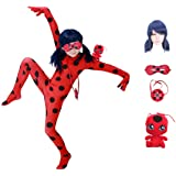 Halloween Cosplay Baby Girls Costumes Kids Little red Beetle Suit 3-10 Year
