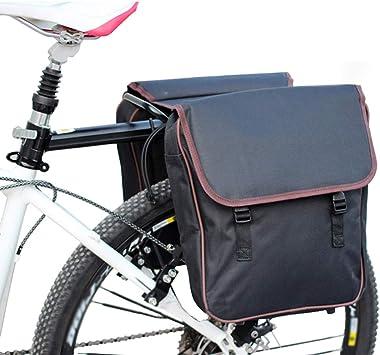 BOLSAS Alforja Trasera Bicicleta, Portaequipajes para Bicicletas ...