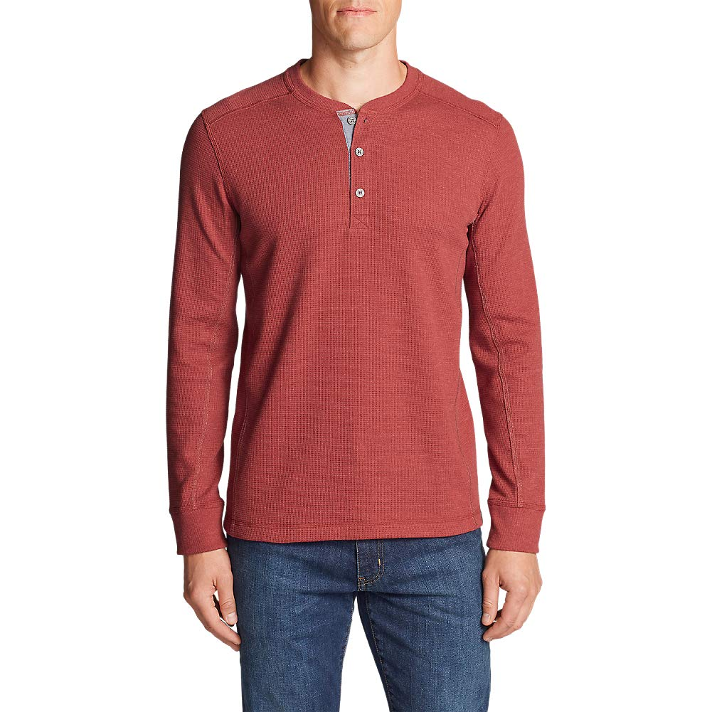Eddie Bauer Men's Eddie's Favorite Thermal Henley Shirt 13302926