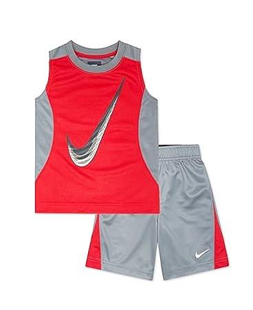 the sale of shoes best service low priced Nike Kleinkinder Jungen 2 Stück Muscle Tank Top Shirt und ...