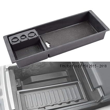 Edbetos Organizer For Ford F150 2015 2016 2017 2018 2019 Center Console Armrest Organizer Accessories Tray With Coin Box Holder Pallet Storage Box