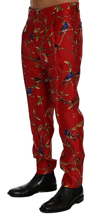 Dolce & Gabbana - Vaquero - para Hombre Rojo Rosso 44: Amazon.es: Ropa y accesorios