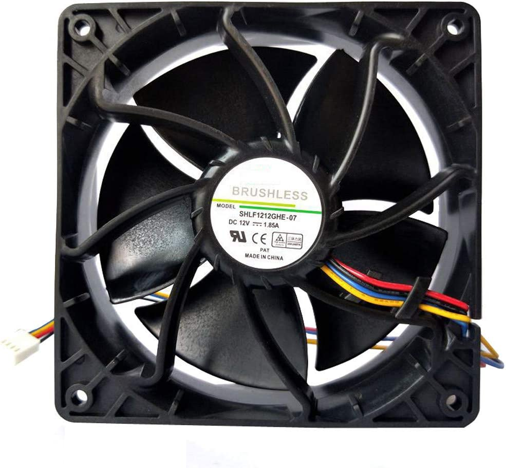 6500RPM Cooling Fan Replacement 4-pin Connector For Antminer Bitmain S7 S9