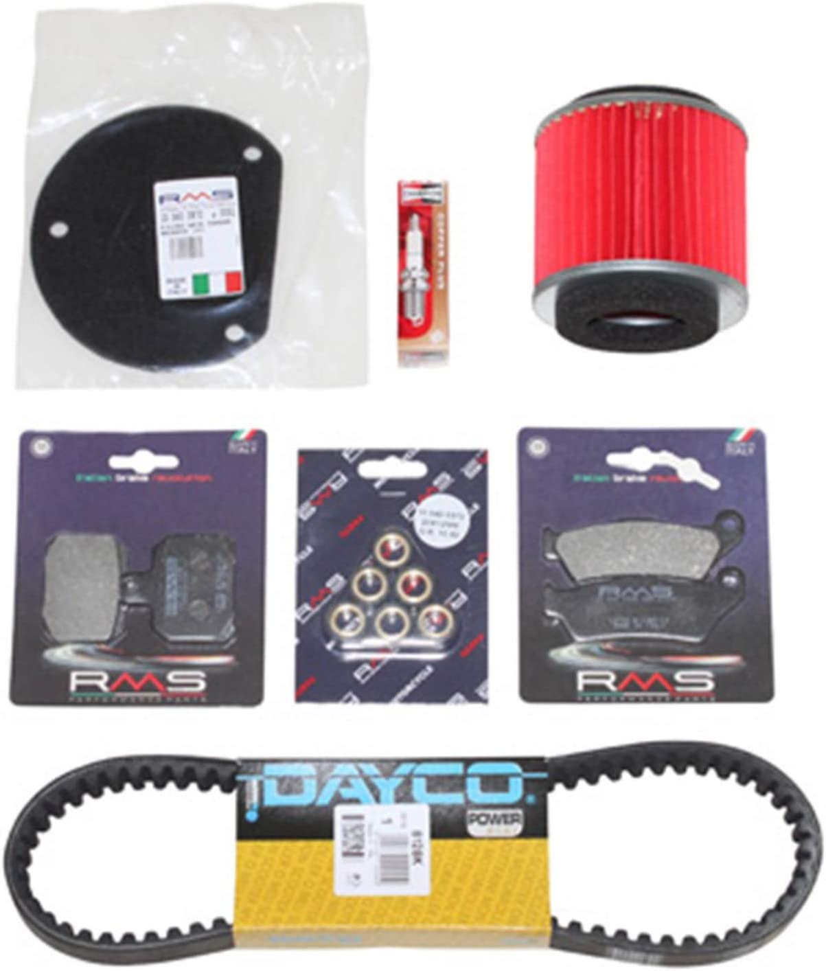 rms Motodak Kit Entretien maxiscooter Adaptable Yamaha 125 Majesty 2006+2009-mbk 125 skyliner 2006+2009