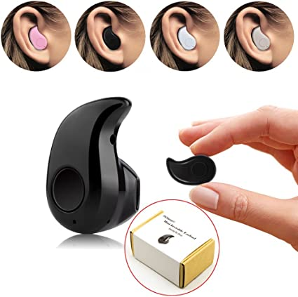 PChero Mini auricular inalámbrico para smartphone (micrófono ...