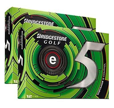 24) Bridgestone e5 High Flight Longer Distance Golf Balls, 2 Dozen | ECWX6D-E5