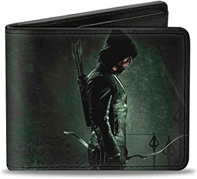The Arrow Tv Show Oliver Queen Dc Comics Gift Boxed Bifold Wallet