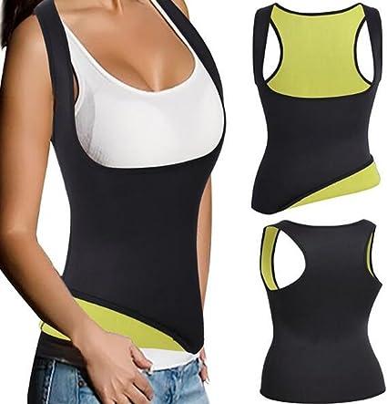 Good Figure Waist Trainer Sauna Sweat Body Shaper Zipper Vest Cami Corset Girdle