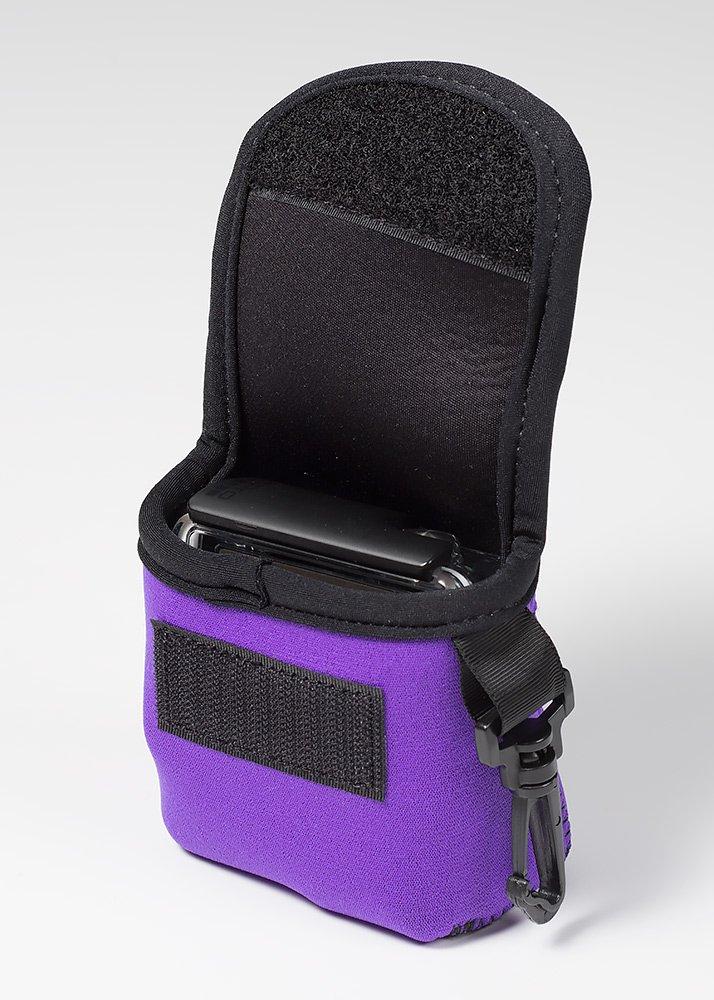 LensCoat BodyBag GoPro neoprene protection camera bag case (Purple) lenscoat