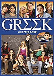 The rivalries, responsibilities and relationships reach new heights in Chapter Four of the ABC Family Original Series GREEK. Guest star Jesse McCartney joins the cast for a semester of surprises at Cyprus-Rhodes University. When Rusty convinces the s...