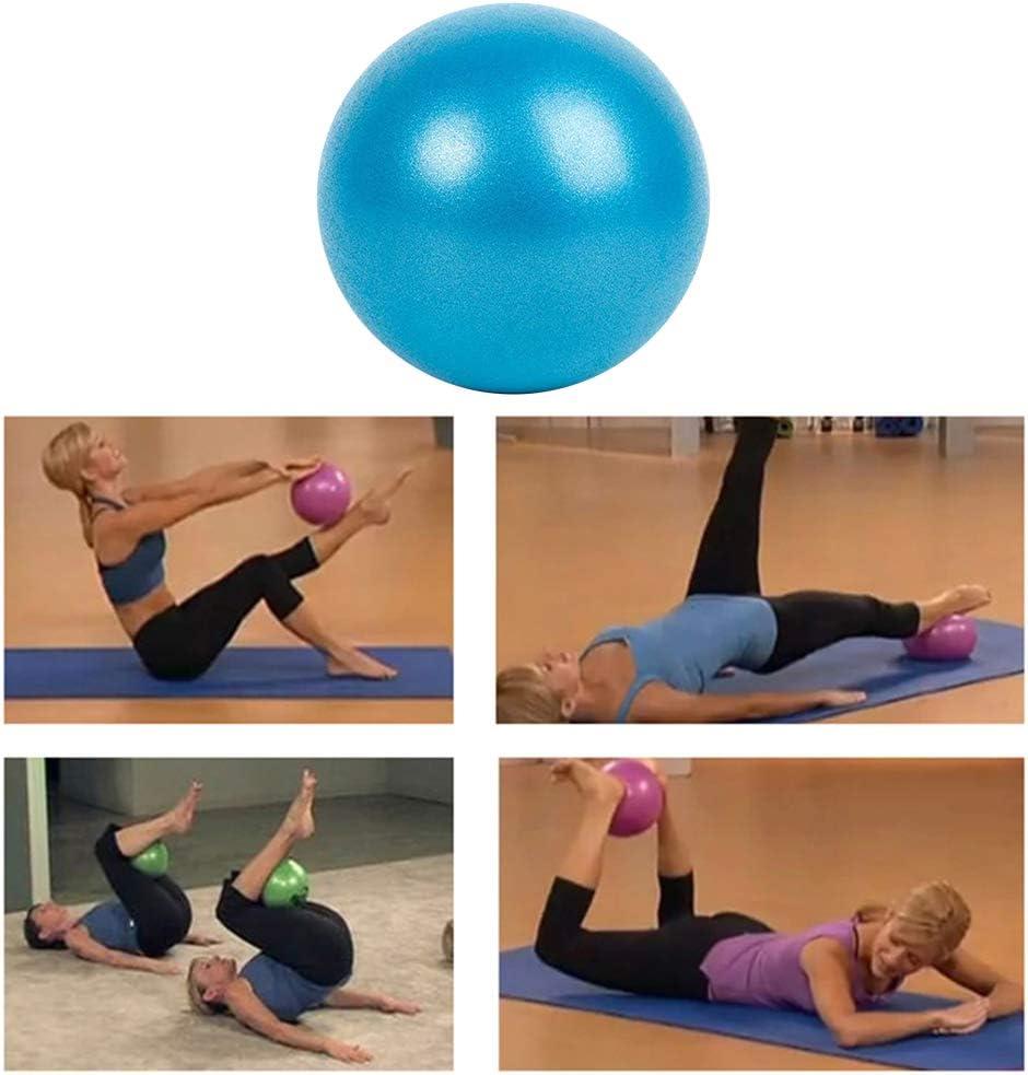 PVC, 25 cm, a Prueba de explosiones, bal/ón de Yoga, Ejercicio y Fitness Ourine Pelota de Yoga