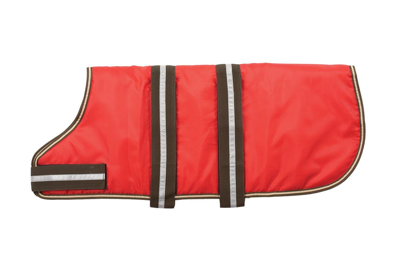 Fashion Pet Outdoor Dog Blanket Coat, X-Large, Red