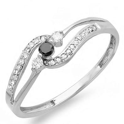 3//5ct Diamond Square Promise Ring