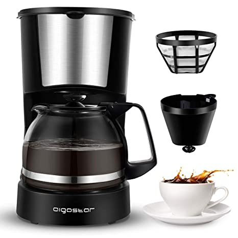 Amazon.com: Aigostar Buck - Cafetera eléctrica de 4 tazas ...