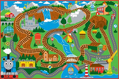 Thomas Amp Friends Game Rug Epic Kids Toys