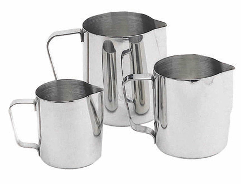12.5 fl oz Frothing Jug KitchenCraft Small Stainless Steel Milk Jug 350 ml