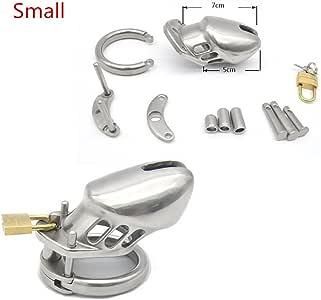 2018 Shop New Stainless Steel Male ChǎstítŸ Cǒck Cage Belt For Men Pểñìs Sleeve YA032C213 Rǐng Lock