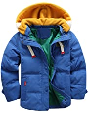 GoodLock Clearance!! Baby Boys Girls Coats Kids Winter Hooded Coat Cloak Jacket Thick Warm Outerwear Clothes