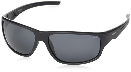 Polaroid Herren Sonnenbrille » PLD 7013/S«, schwarz, 807/M9 - schwarz/grau