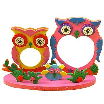 Amazoncom Diy Toys Frame Foam Craft Kids Child Creative Activity