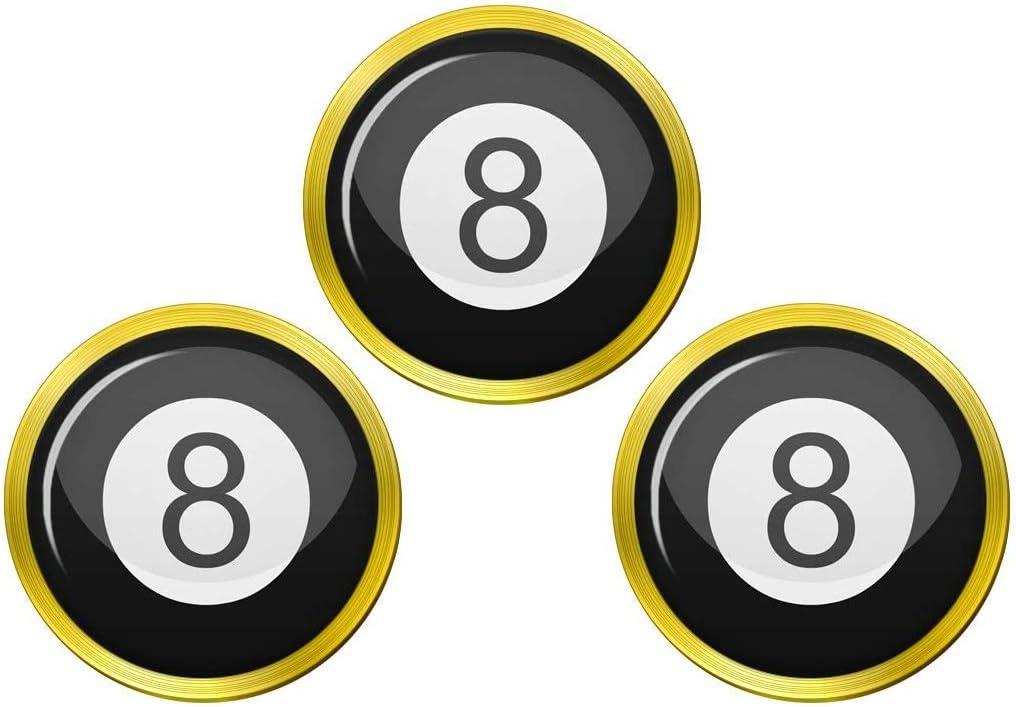 Giftshop UK 8 Ball Pool Pelota Golf Marcadores: Amazon.es: Deportes y aire libre