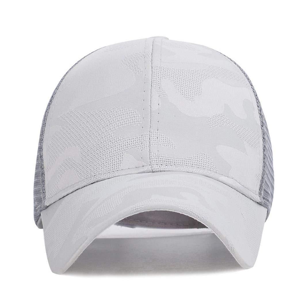 villeur Women Men Adult Fashion Camouflage Mesh Patchwork Baseball Cap Baseball Caps