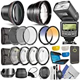 Professional Accessory Kit for NIKON DSLR Cameras (D7000 D5100 D5000 D3100 D3000 D90 D80)