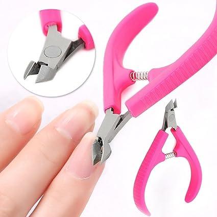 BIEE, Professional Alicate para Cutículas,alicate uñas pies podologia, cortauñas para uñas de