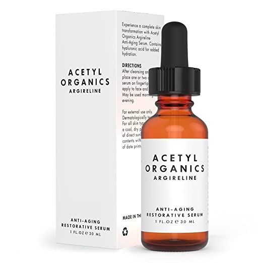 Premium Argireline Serum, Become Instantly Ageless with this Best Anti-aging Serum for Face and Neck with Hyaluronic Acid. Our Botox in a Bottle Cream is a 100% Risk Free Offer.